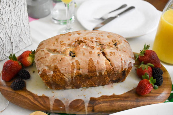 Lemon Berry Quick Bread