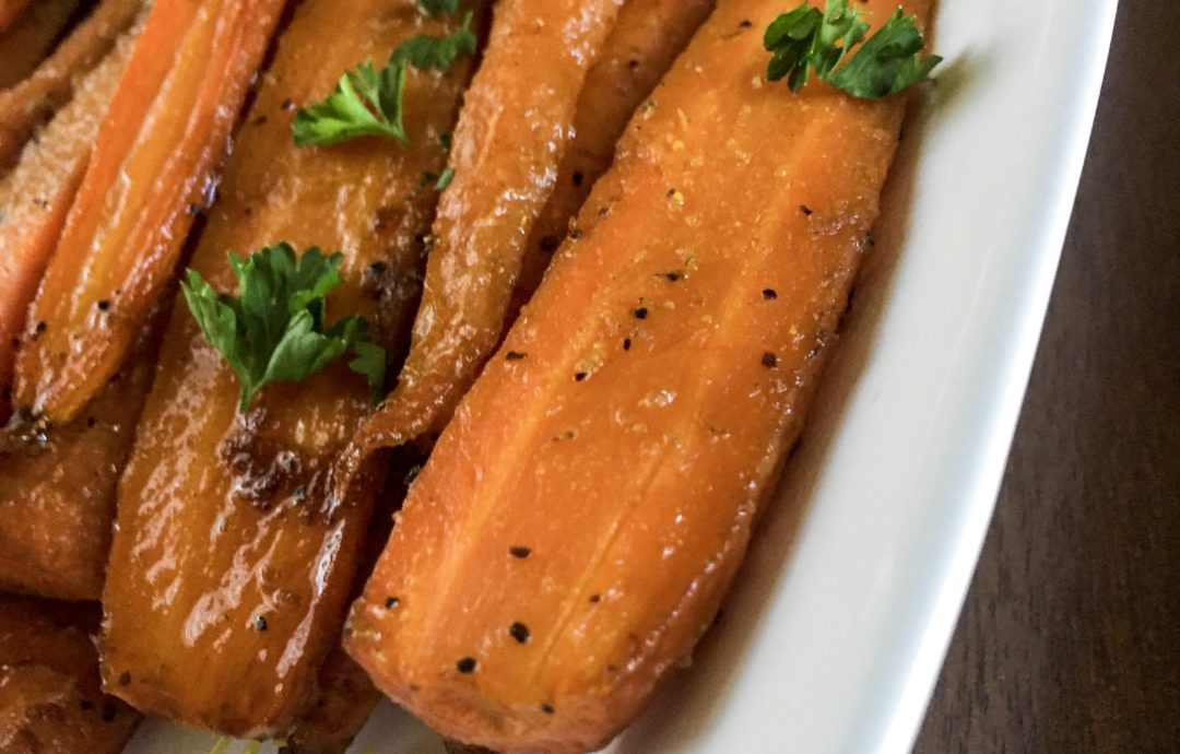 Ginger Curry Carrots