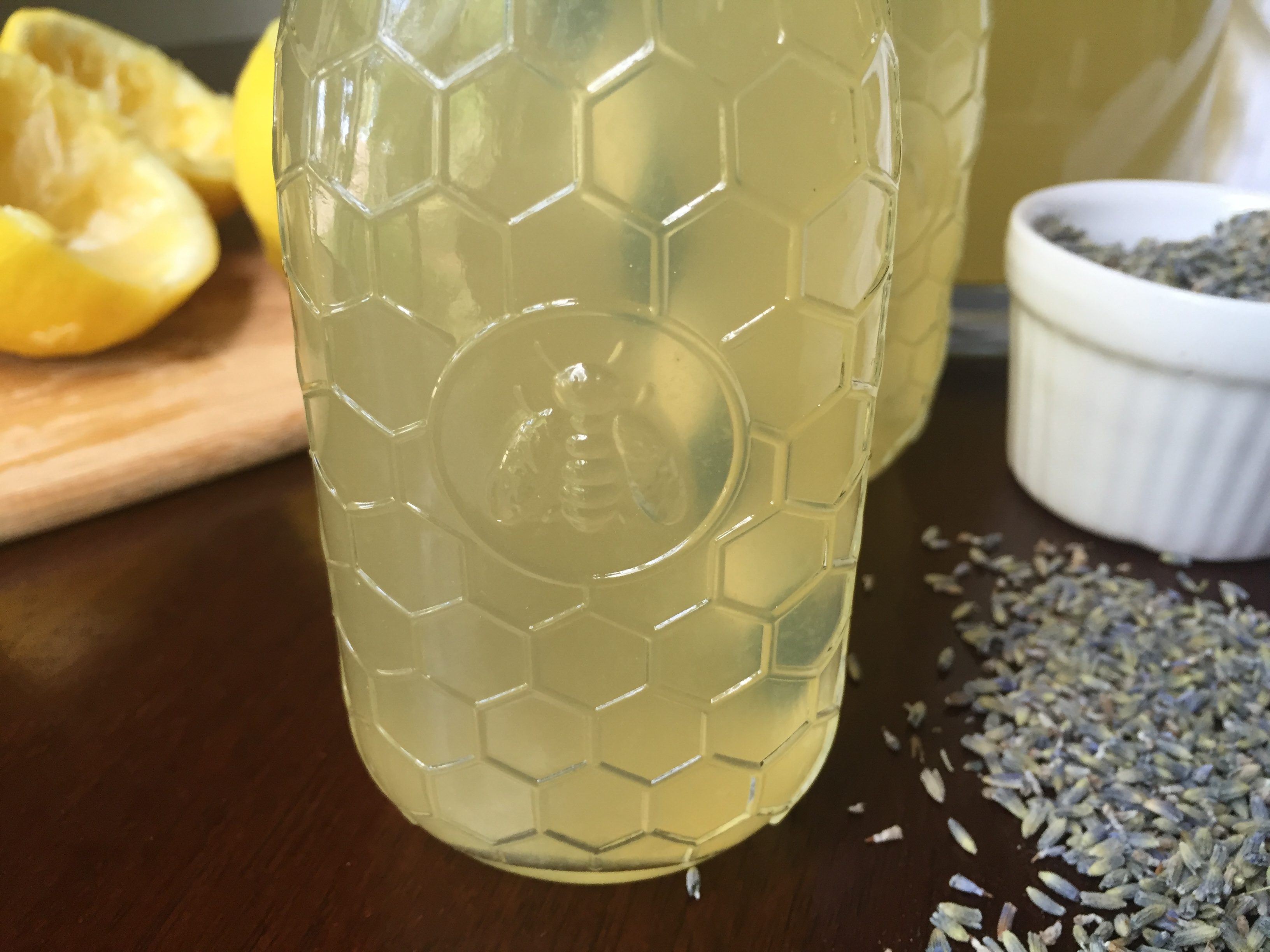 Simple Honey Lavender Lemonade