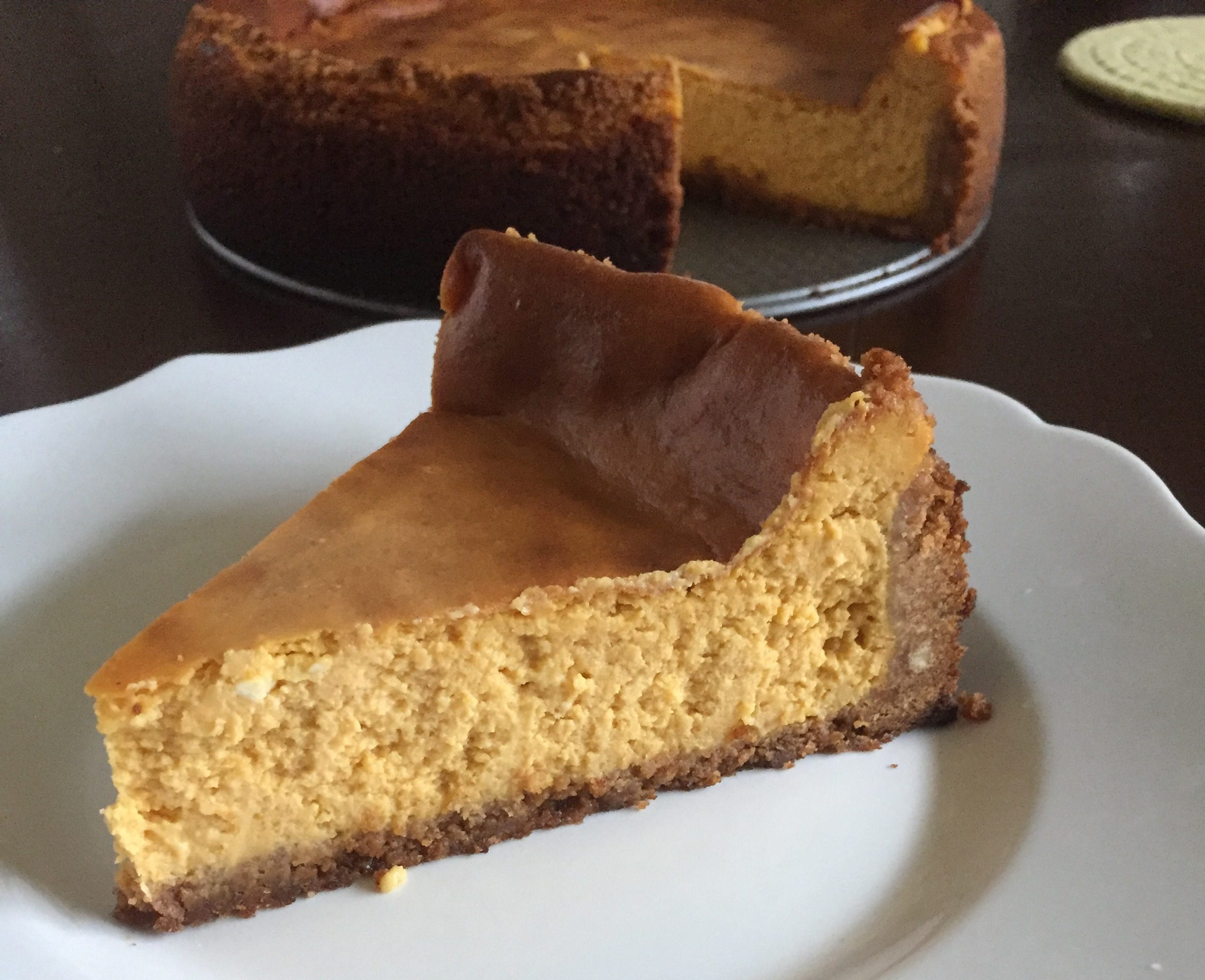 Perfect Pumpkin Cheesecake