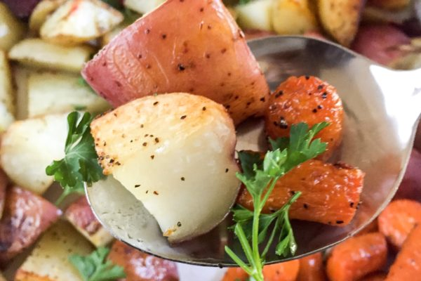 Easy Roasted Root Veggies
