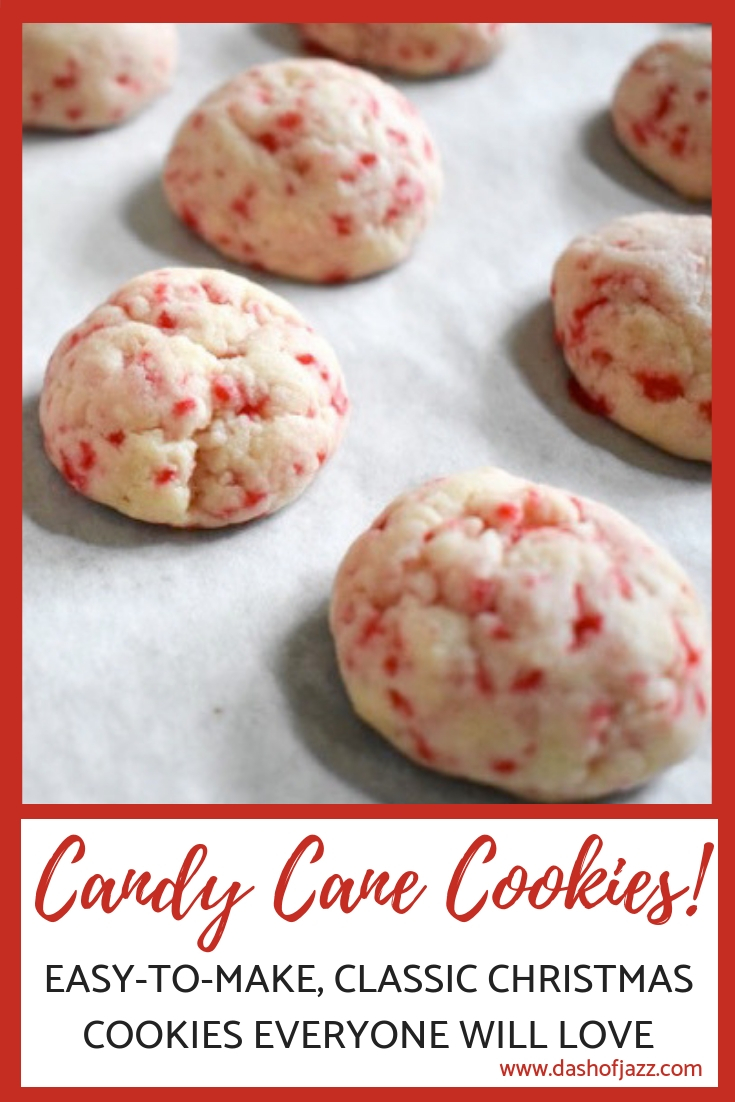 My candy cane cookies are a Christmas family favorite, cute as a button and deliciously addictive. Try this easy recipe from Dash of Jazz for the holidays.
