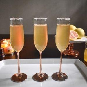 Citrus Champagne Sparklers