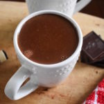 Red Wine Hot Chocolate | Dash of Jazz