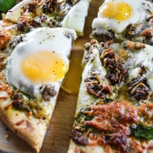Easy Brunch Pizza