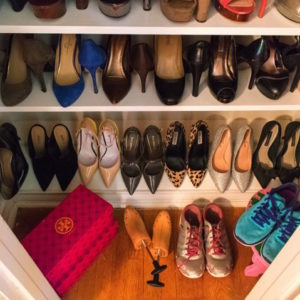 Weekend Project: Custom Shoe Closet