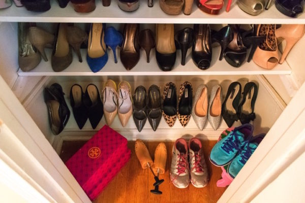 Weekend Project: Custom Shoe Closet