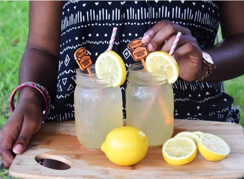 Fizzy Honey Ginger Lemonade Dash Of Jazz