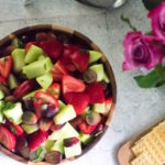 Fruit Salad with Sweet Orange Mint Dressing | Dash of Jazz