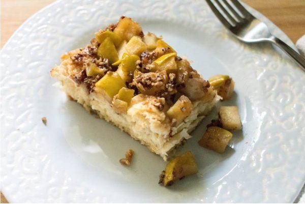 Apple Praline Biscuit Bake | Dash of Jazz