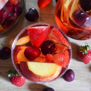 Summer Fruit Rosé Sangria