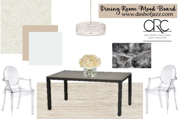 Dining Room Mood Board (One Room Challenge Week 1)