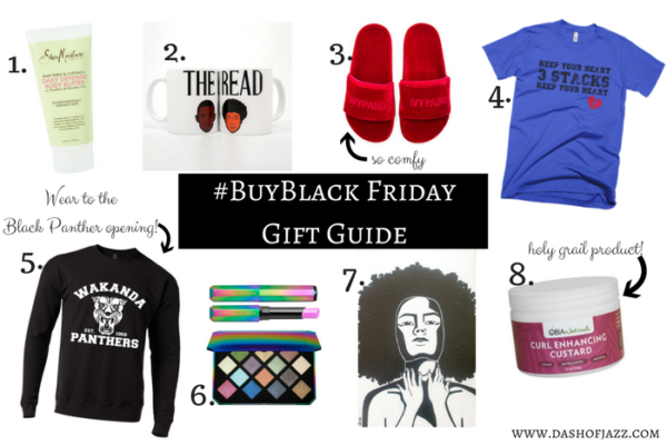#BuyBlack Friday Gift Guide