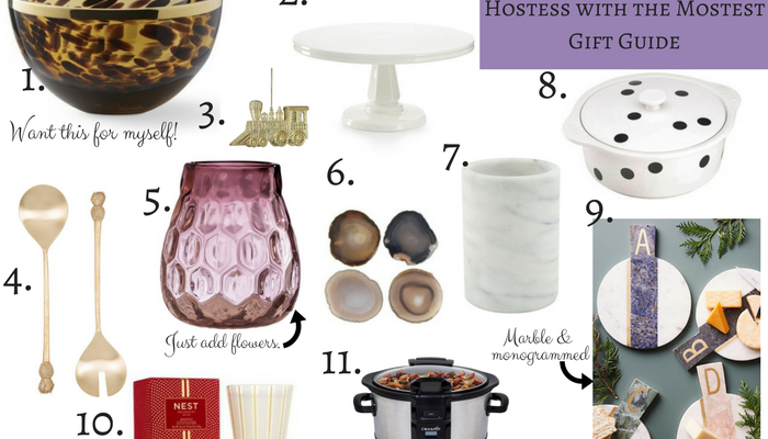 Gift Guide for your Hostess with the Mostest friend who has everything by Dash of Jazz