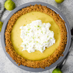Easy Classic Key Lime Pie