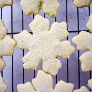 Tahini Sugar Cookies