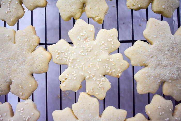 Tahini Sugar Cookies