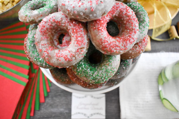 Gingerbread Christmas Donuts