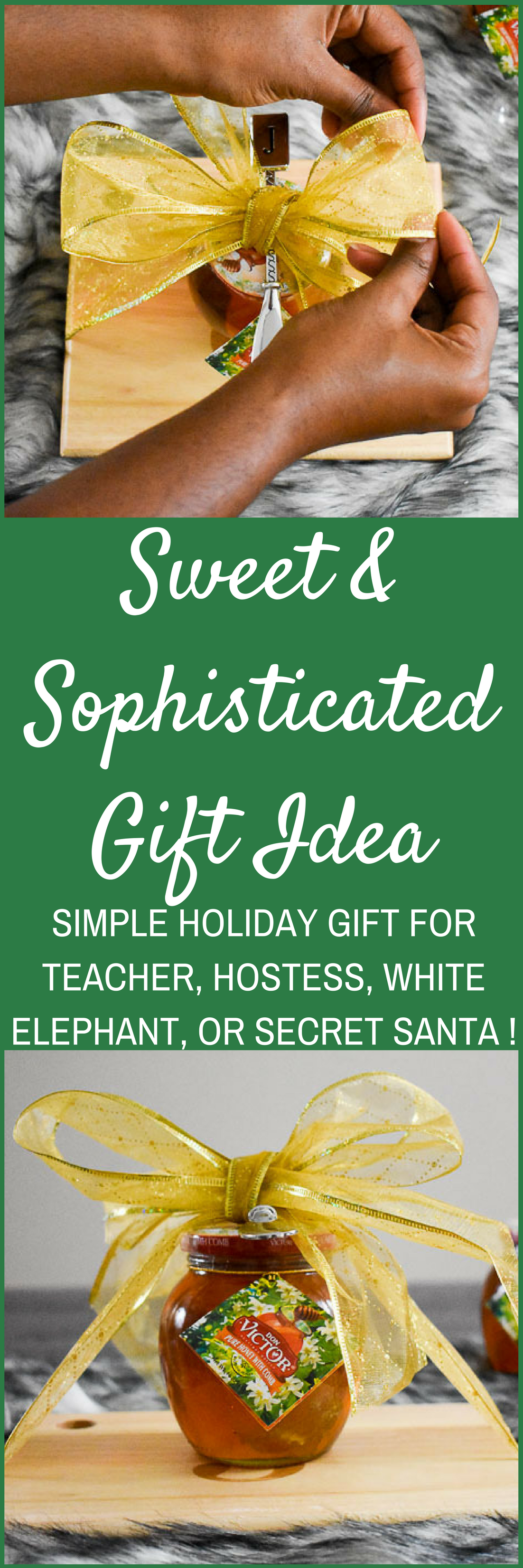 An easy gift idea that's perfect for hostesses, teachers, white elephant, secret Santa, or any gift-giving occasion. Step-by-step tutorial by Dash of Jazz
