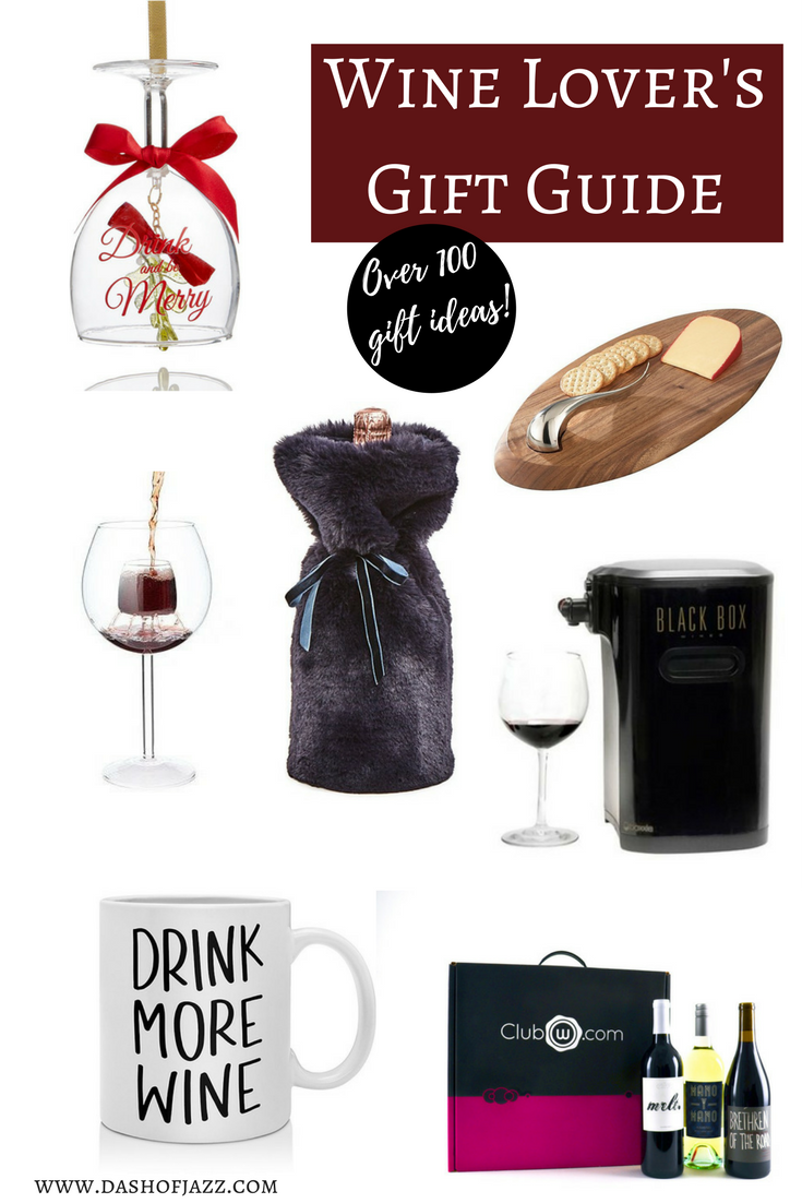 A gift guide for the wine lover in your life--from the entry-