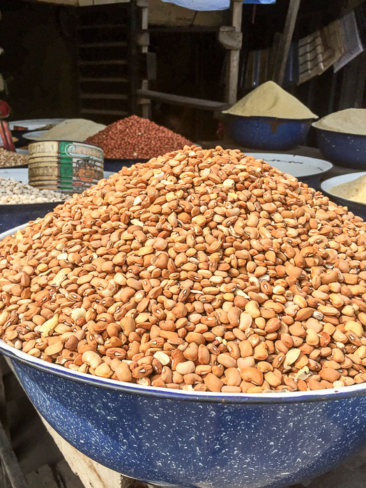 dry goods at Lekki Market, Lagos, Nigeria