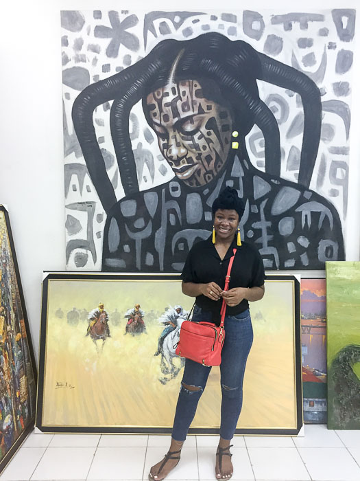 Dash of Jazz inside Nike Art Gallery in Lekki, Lagos, Nigeria