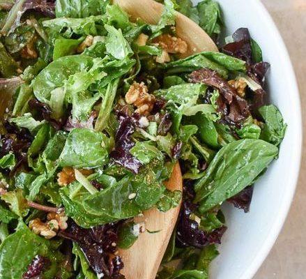 My Go-To Celebration Salad Recipe (Champagne & Greens Salad)