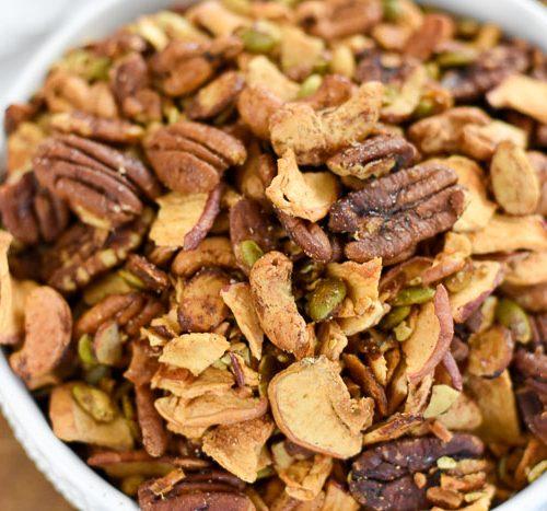Apple Cinnamon Grain Free Granola Paleo Dash Of Jazz