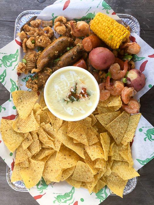 Appetizer Platter from EaDeaux's in Houston, TX EaDo