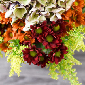 Easy Fall Flower Arrangement