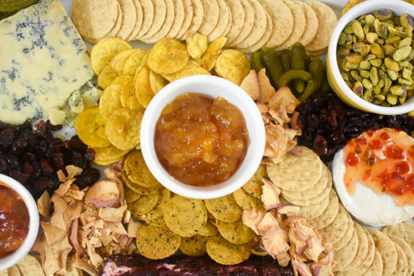 How to Make a Fall Cheese Board with Trader Joe's Finds