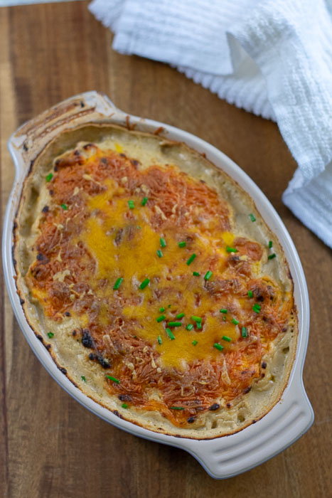 baked hot turkey sausage dip