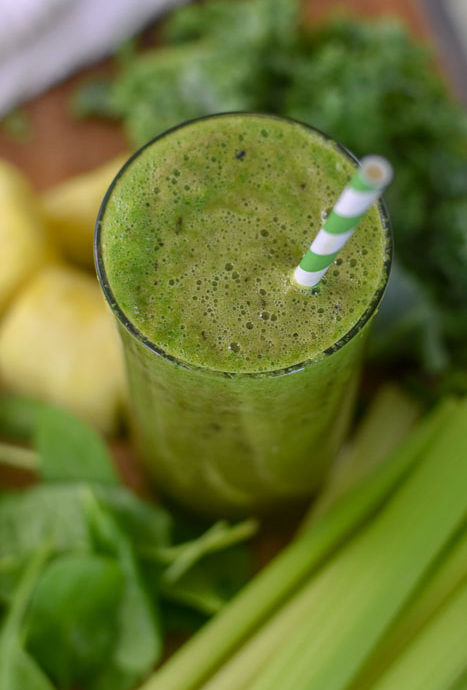Glowing Skin Sweet Green Smoothie (Vegan + Dairy-Free)