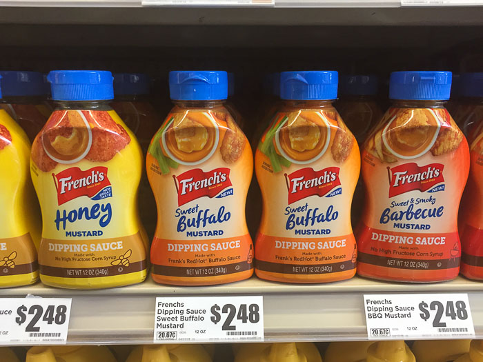 French's Dipping Sauces at HEB