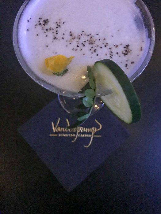 English Garden gin cocktail at Vanderpump Cocktail Garden Las Vegas