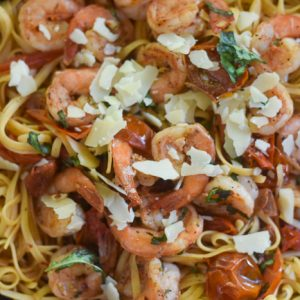 Quick Shrimp & Tomato Pasta (20-Minute Dinner)
