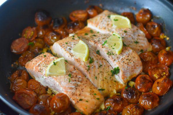 20-Minute Salmon Dinner (in One Pan!)