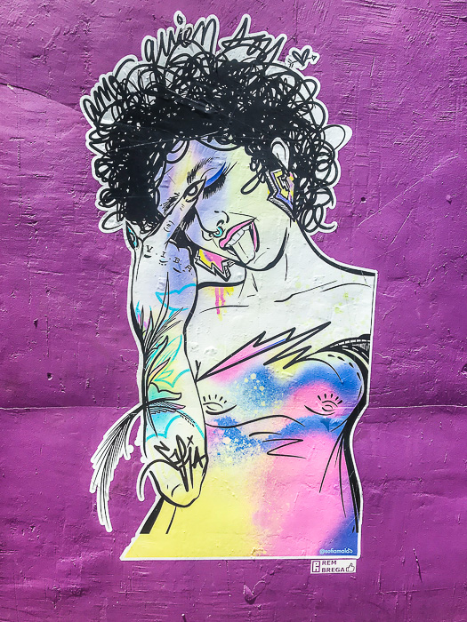 street art in Santurce, Puerto Rico