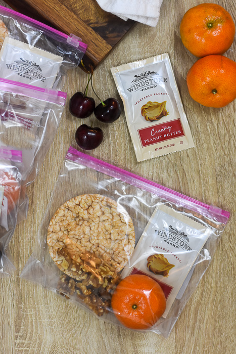 adult snack packs with protein, energy, and fresh fruit