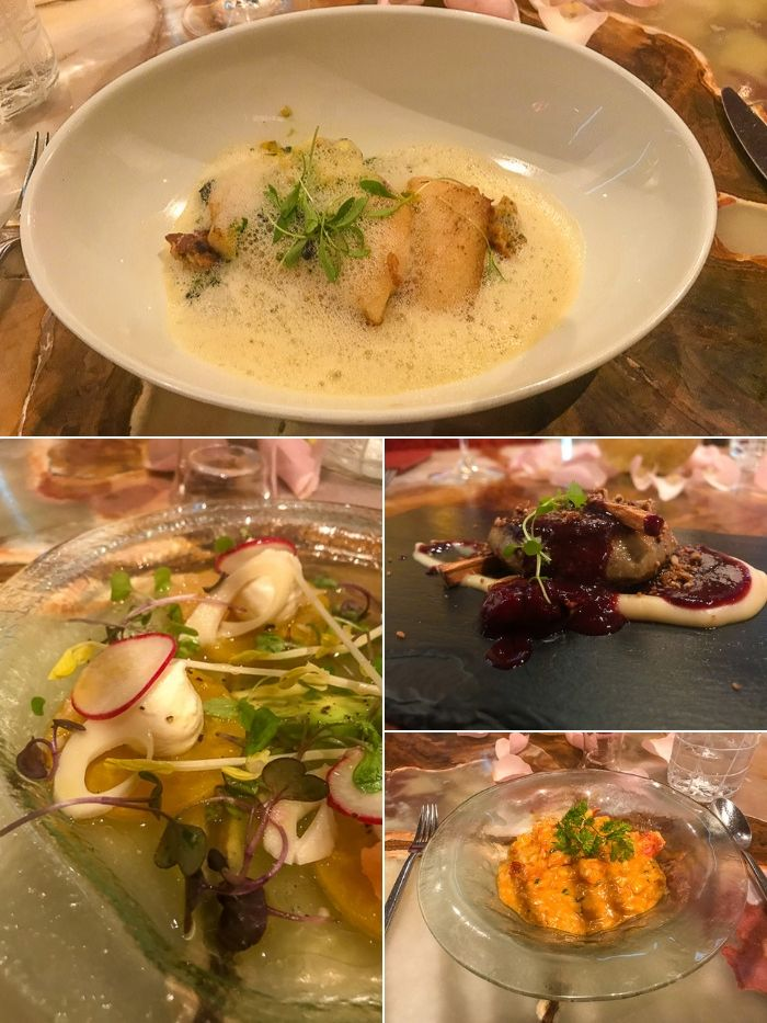 4 course dinner at Marmalade Restaurant in Old San Juan, Puerto Rico
