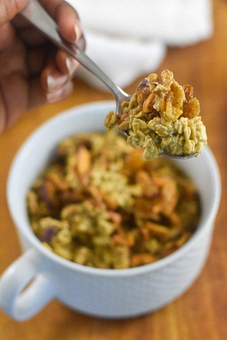 spoonful of overnight oatmeal