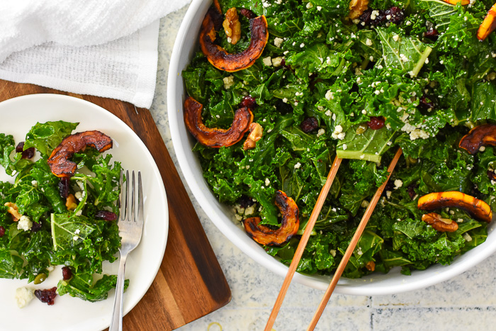 The Ultimate Autumn Salad Orange Maple Vinaigrette Dash Of Jazz