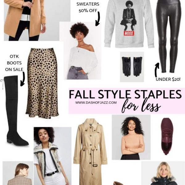 Fall Style Staples for Less