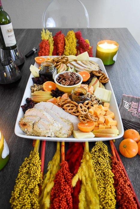 Thanksgiving snack board