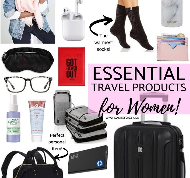 Essential Travel Products I Don't Leave Home Without